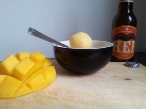 mango sorbet hef