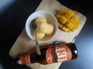 mango hef sorbet