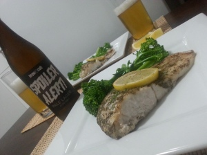 Lemon Myrtle Barra and Lager