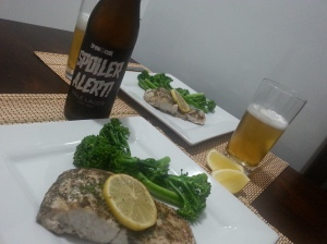 lemon myrtle barra and hoppy lager