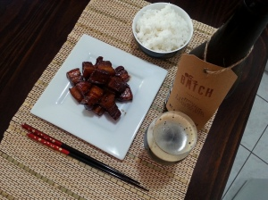 aerial nut brown ale hong shao rou