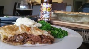 Balsamic Steak & Onion Pie